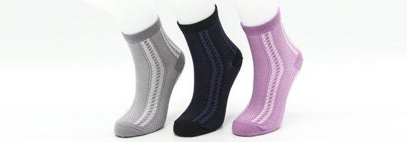 Женские носки в сеточку