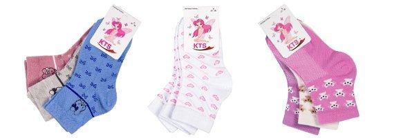 Модные носочки с рисунком из хлопка для девочек!