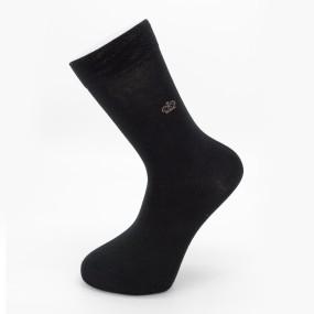 "Мужские классические носки IMERA ""Корона"" IL0030 / 12 пар / чёрные"