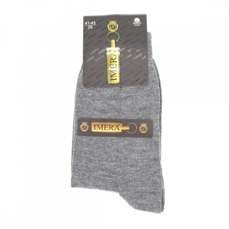 "Мужские носки Имера ""Classic"" IL0010 / 12 пар / серый меланж"