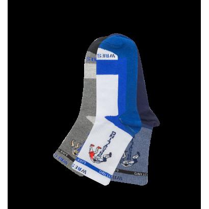 """Спортивные Мужские носки Имера """"WRESTLING"""" ISL0153 / 12 пар / ассорти"""