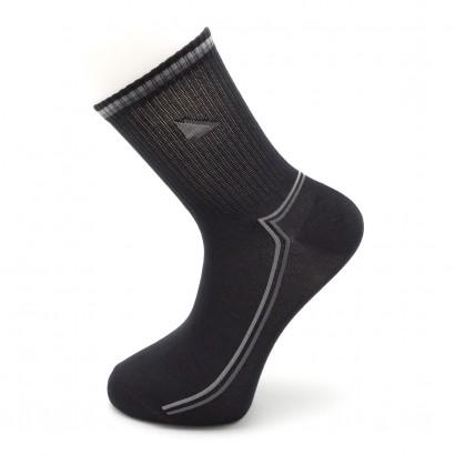 Спортивные Мужские носки Имера   KSL0059 / 12 пар / черный