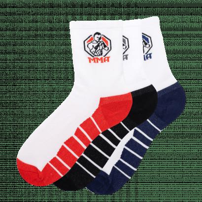 """Спортивные Мужские носки Имера """"MMA"""" ISL0160/ 12 пар / ассорти"""