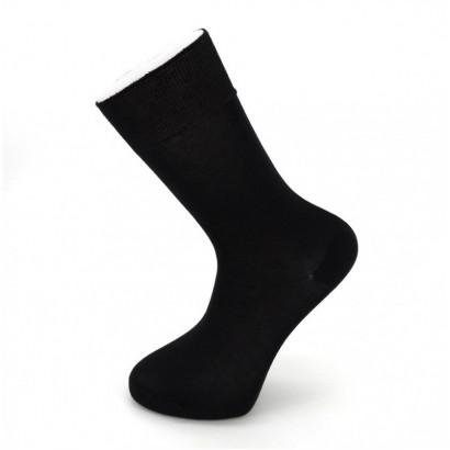 """Мужские носки Carabelli """"Lycra"""" C1008 / 12 пар / чёрные"""
