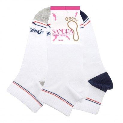 Женские носки SANDRA SLL0232 / 12 пар / ассорти