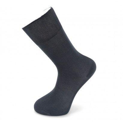 """Мужские бесшовные носки Carabelli """"Однотонные"""" C1001 / 12 пар / тёмно-серые"""