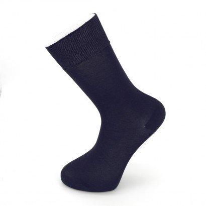 """Мужские бесшовные носки Carabelli """"Однотонные"""" C1001 / 12 пар / тёмно-синие"""
