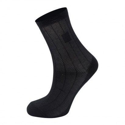 Классические носочки KTS для мальчиков KTSNS1002 / 12 пар / чёрные