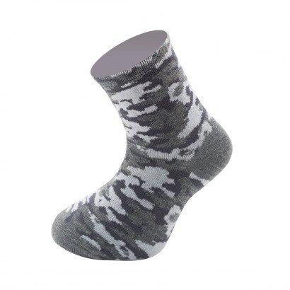 """Детские носочки KTS для мальчиков  """"Камуфляж"""" KTSL0111 / 12 пар / 3 цвета"""