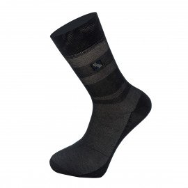 Мужские носки Имера классические KSK0015 / 12 пар / чёрные