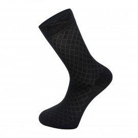 Мужские носки Имера  классические IN3016 / 12 пар / чёрные